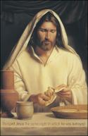 He was Betrayed Christ Breaking Bread